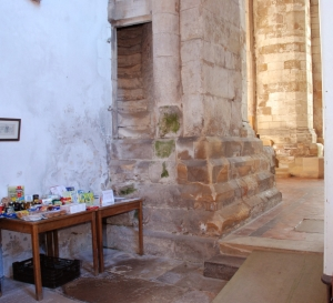 Steps in column