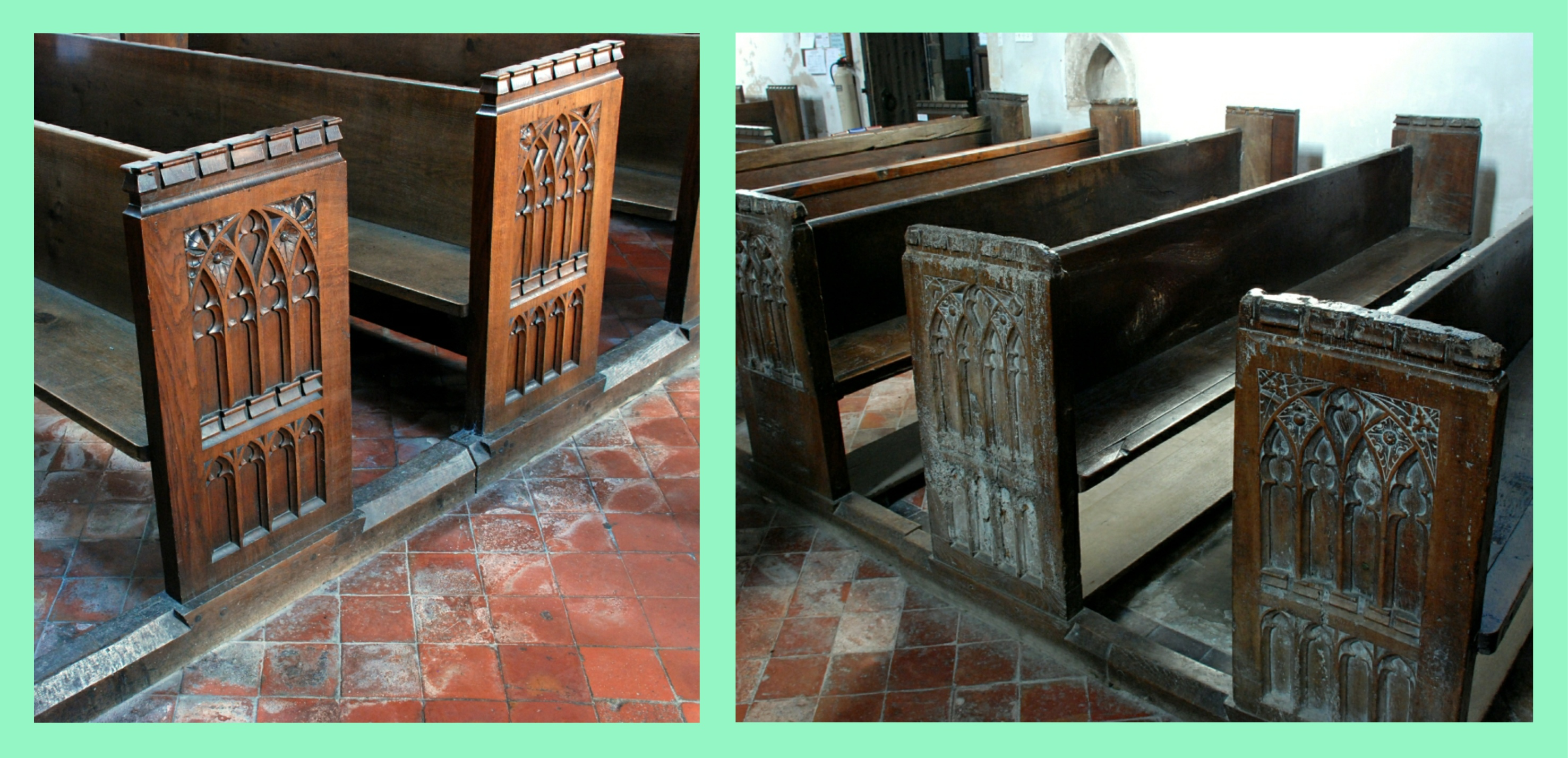 Stow Old & Victorian Pews
