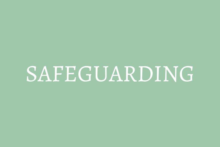 button to safeguarding