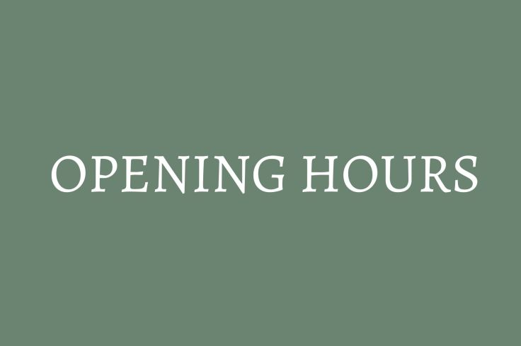 button to opening hours