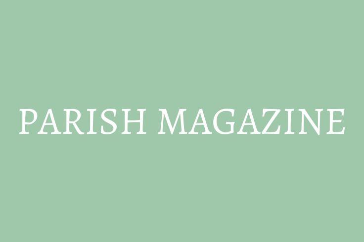 button to parish magazine