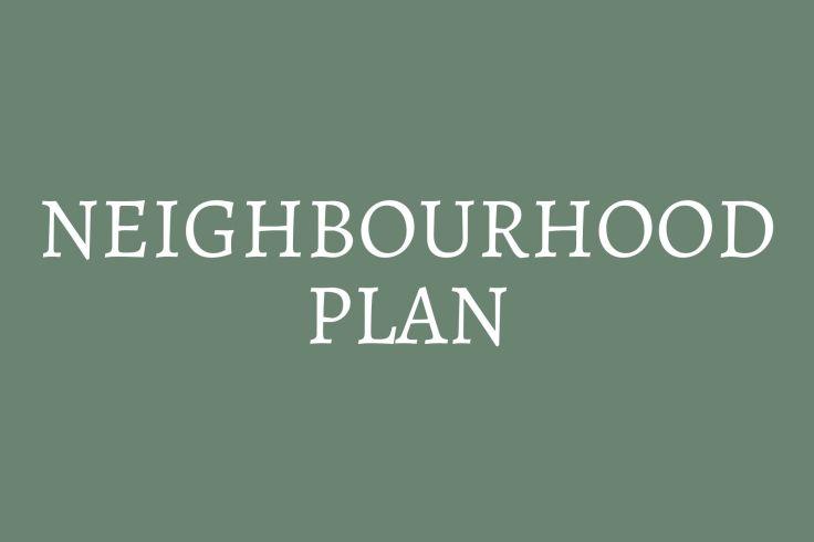 button to neighbourhood plan